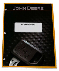 John Deere 332 Skid Steer Loader Ct332 Track Loader Service Repair Manual Tm2212