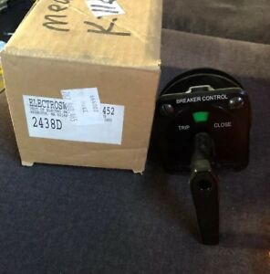 New In Box Electroswitch Rotary Switch Breaker Control Series 24 2438d
