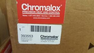 Chromalox 393553 Single entry Upc Power Heat Trace Connection Kit New Nos