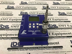 Kolver Torque Tester With S e Test Joint