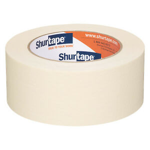 Shurtape Utility Grade Masking Tapes 3 4 In X 60 Yd 5 Mil Natural