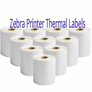 16 Rolls 4 x6 250 Zebra Printer Direct Thermal Shipping Labels For Usps Fedex