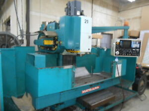1984 Matsuura Mc760v2 30 X travel Vmc Cnc Under Power And Operational