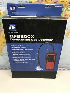 Tif Instruments Tif8800x Handheld Combustible Gas Leak Detector Made In Usa