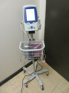 Welch allyn Spot Vital Signs Lxi 45nt0 Nibp Temp Massimo Spo2 Stand 16054