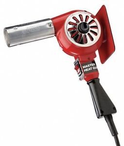 Electric Heat Gun 240vac Variable Temp Settings 500 To 750 f