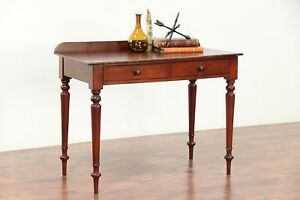 Walnut Antique 1825 Hall Or Console Table Writing Desk 29585