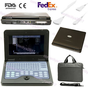 10 1 Digital Ultrasound Scanner Portable Laptop Machine 2 Probe cms600p2 Fda Us