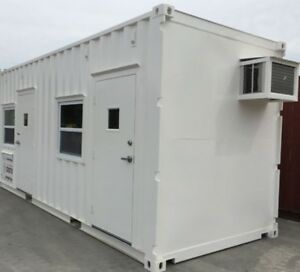 40 Sd 40 Hc Container Office With 2 Man Door 4 Windows N America