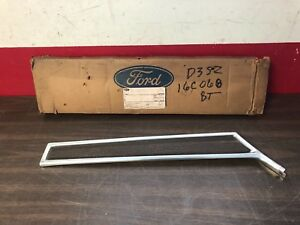 1973 Ford Thunderbird Brown Rh Front Fender Trim Moulding Nos 918