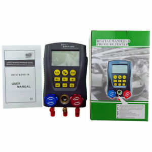 Di 517 Ac Digital Manifold Gauge Refrigeration System Hvac Pressure Test Trim