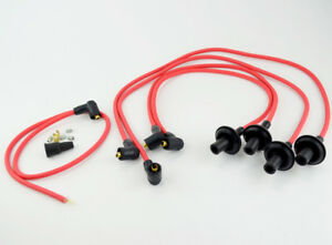 Spark Plug Wires 90 Degree 8mm Red For Type 1 Vw Dunebuggy Vw
