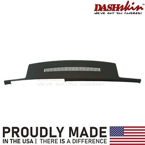 88 94 Chevy Gmc C1500 K1500 Molded Dash Cover Overlay Skin W grille Black