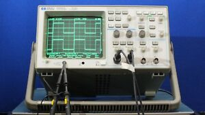 Hp 54601a Oscilloscope 4 Channel 100 Mhz With Hp65650a Hp ib Interface Module