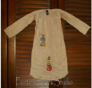 Primitive Decor Jack O Lantern Feather Tree Nightshirt Cupboard Grungy Pumpkin