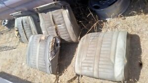 1962 Oldsmobile Starfire Power Bucket Seats Left Right Complete With Tracks