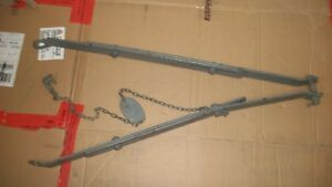 Ford 9n 8n 2n Tractor Original 3 Point Hitch Stabilizer Bar Brackets With Chain