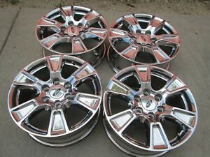 18 Ford F150 Expedition Chrome Pvd Factory Wheels Rims A B