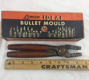 Lyman Ideal Single Cavity Bullet Mold Handles with box Crack In Handle