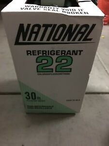 National R22 Refrigerant 30lb Virgin Sealed