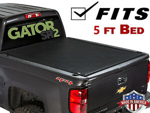 Premium Roll Up Tonneau Cover For 2015 2018 Chevy Colorado Canyon Gmc 5 Bed
