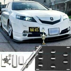 License Plate Mount Bracket Bumper Tow Hook For Honda S2000 Ap1 Ap2 Fit Acura Tl