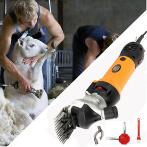 Electric Sheep Shears Pet Grooming Clippers Trimming Goat Animal Hair Livestock