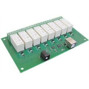 Devantech Usb rly16 16amp 8 Channel Relay Module