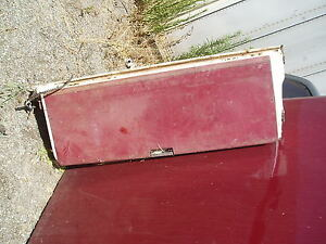 1966 Ford Country Squire Mercury Tail Gate Wagon Tailgate 1967