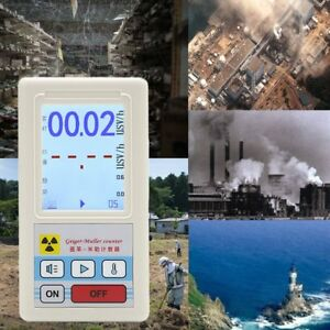 Geiger Counter Nuclear Radiation Detector Personal Dosimeter Marble Testerp