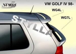 Spoiler Rear Roof Vw Volkswagen Golf Mk4 Mkiv Wing Accessories