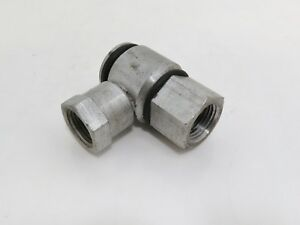 Parker Live Swivel Steel Hydraulic Fitting 3 4 Threads 8an