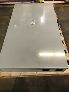 Siemens Hf327n 800 Amp 240 3ph 4 Wire Type 1 Fused Safety Switch Disconnect Box