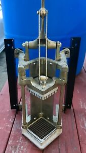 Vollrath French Fry Potato Cutter Heavy Duty Home Commercial Concession Slicer