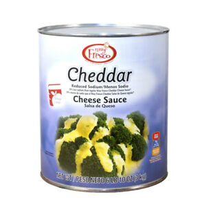 Muy Fresco Reduced Sodium Cheddar Cheese Sauce Cans 6 63lbs pack Of 6