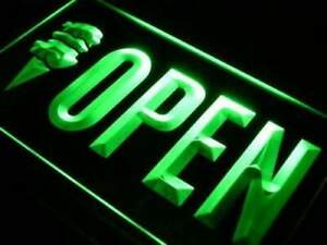 Ice Cream Shop Open Led Neon Light Sign