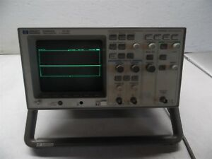 Hp 54600a 100mhz Oscilloscope With 54650a Hp ib Interface Module