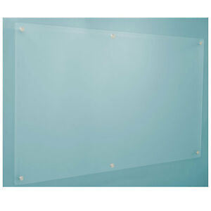 Dry Erase Board Frosted Glass 72 X 48 Lot Of 1