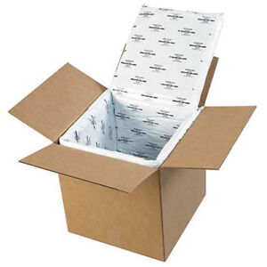 Deluxe Insulated Foam Box Liners 12 x12 x12 5 Pack Liners Only Lot Of 1