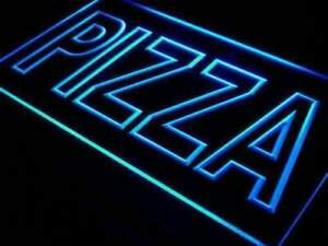 Large Letters Pizza Led Neon Light Sign