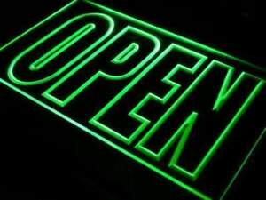 Lite Signs Large Letters Open Sign led Performance Neon Color