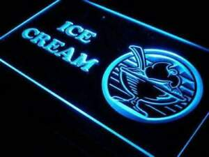 Ice Cream Sundaes Led Neon Light Sign
