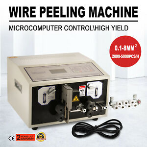 Computer Wire Peeling Stripping Cutting Machine Microcomputer 0 1 8mm 300w
