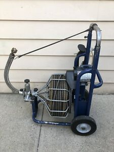 Electric Eel Auto Feed Drain Sewer Cleaning Machine Plumbing Snake