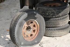 Used Truck Trailer Tires And Rims