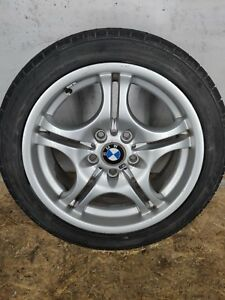 Front Right Or Left M Double Spoke Style 68 Alloy Rim Wheel Oem Bmw E46 3