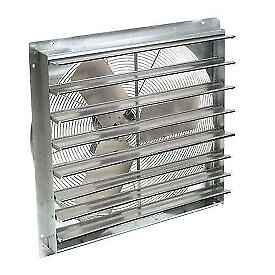 30 Exhaust Ventilation Fan With Shutter Single Speed Lot Of 1
