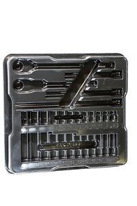 Snap on Tools 3 8 Metric 29pc General Service Socket Tray Only Black Pakty454
