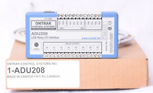 Ontrak Adu208 Usb Relay I o Interface