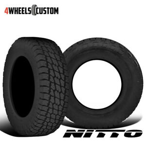 2 X New Nitto Terra Grappler 315 75 16 121q All terrain Tire